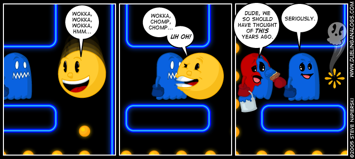 Pac-Man Blues