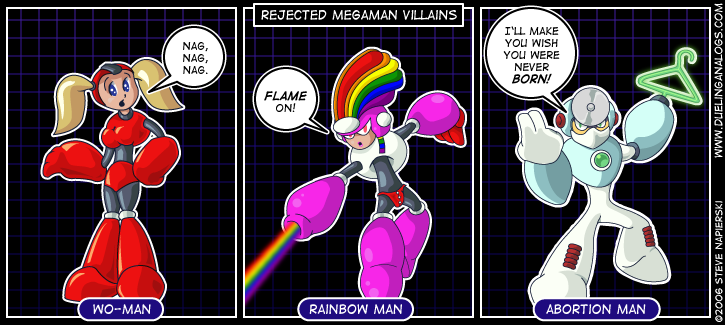 Rejected Mega Man Villains II