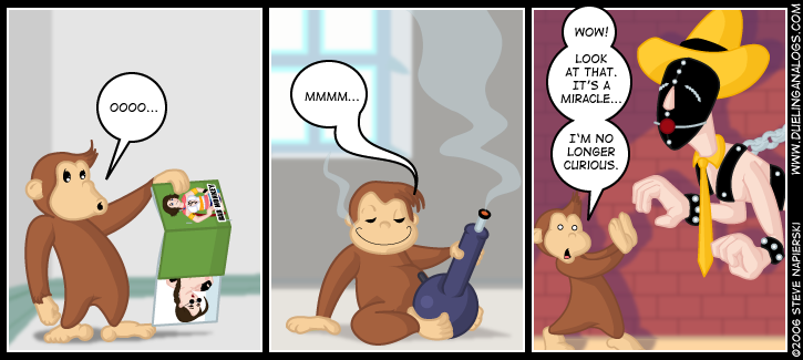 Curiousity Killed the Monkey