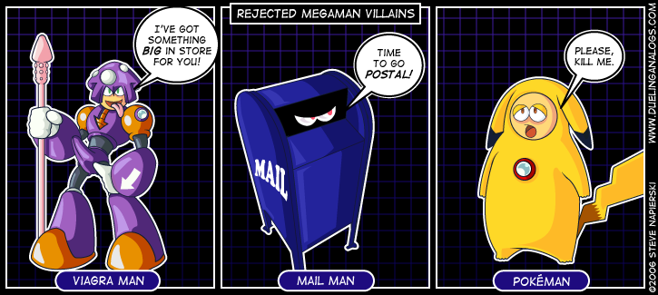 Rejected Mega Man Villains III