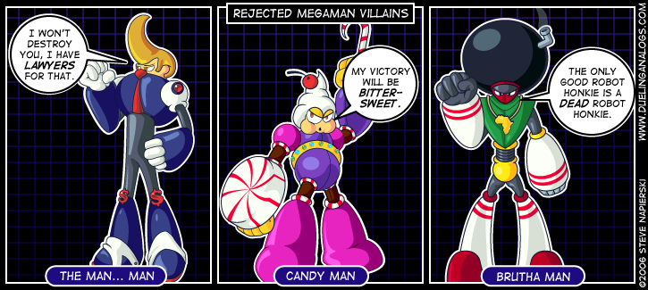 Rejected Mega Man Villains IV