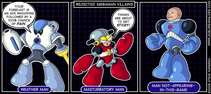 Rejected Mega Man Villains V