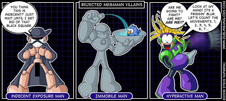 Rejected Mega Man Villains VI