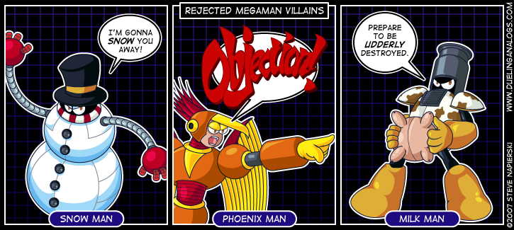 Rejected Mega Man Villains VII