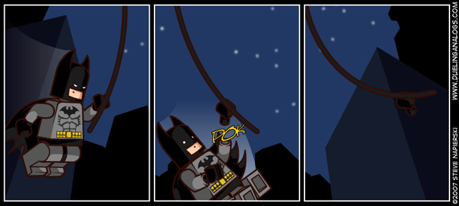 I am Vengeance, I am the Night, I am LEGO!