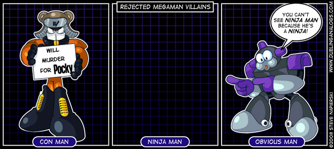Rejected Mega Man Villains X