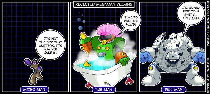 Rejected Mega Man Villains XI
