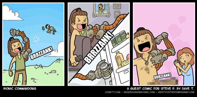 Guest Strip by David Tekiela