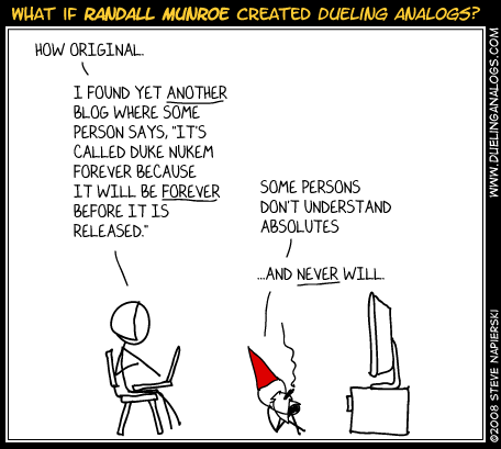 What if xkcd…