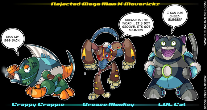 Rejected Mega Man X Mavericks I