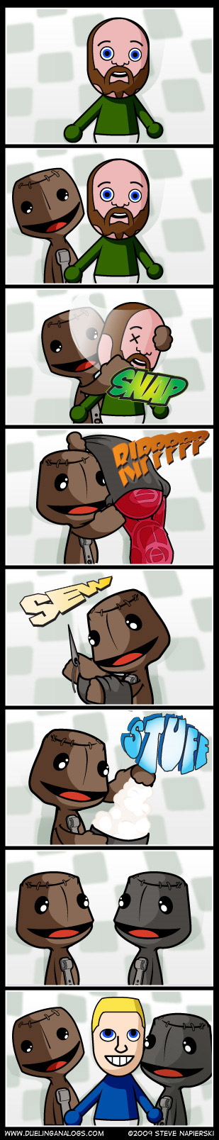 Birth of a Sackboy