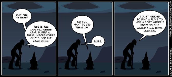Skeletons in the Landfill