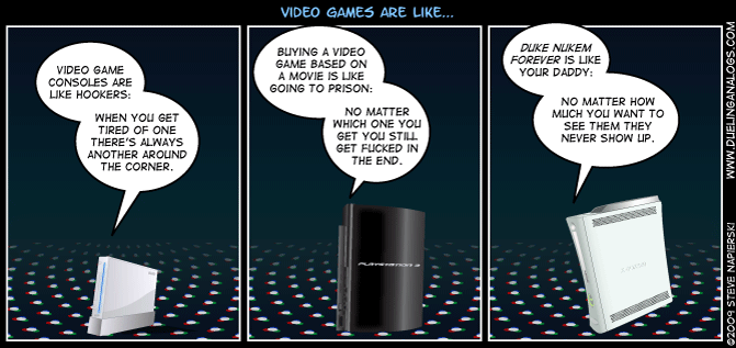 Video Games are like… (Part 1)