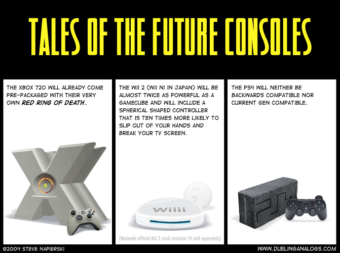 Tales of the Future Consoles