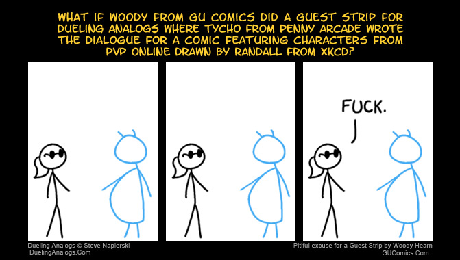 Guest Strip by Woody Hearn