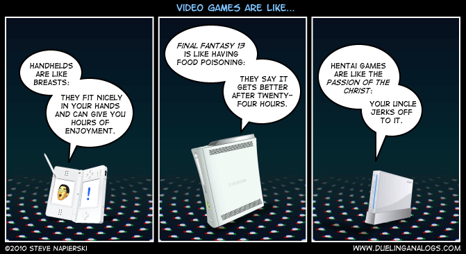 Video Games are like… (Part 2)