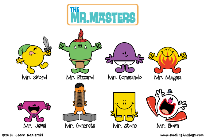 The Mr. Masters 5