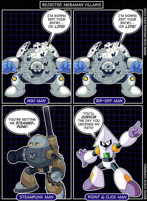 Rejected Mega Man Villains XII