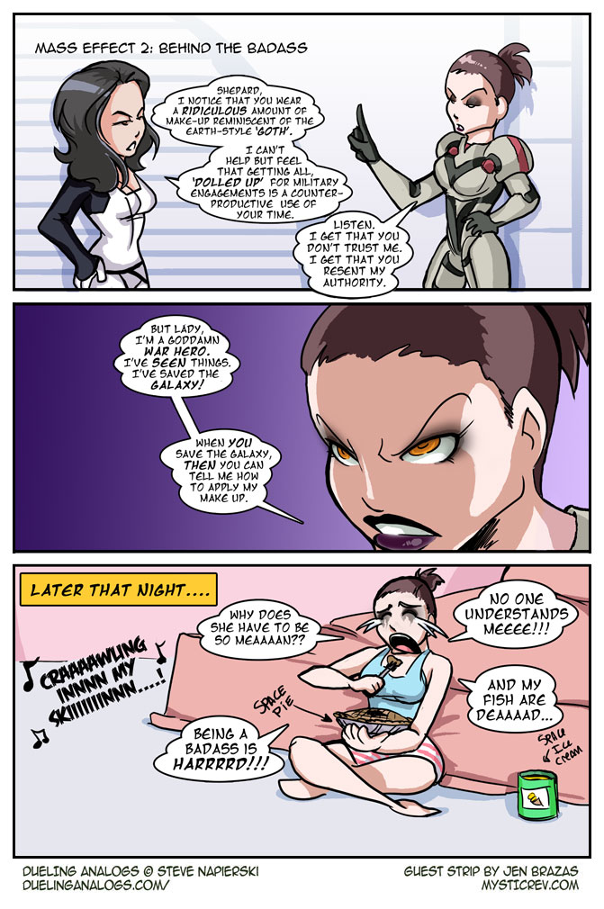 Mass Effect 2: Behind the Badass