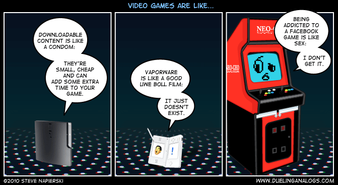 Video Games are like…