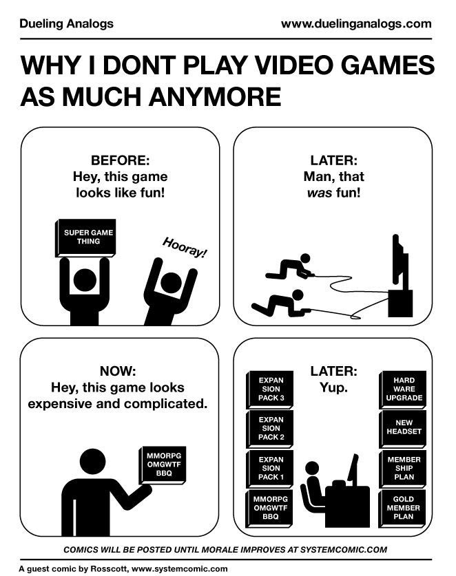 Why I Don't Play Video Games As Much Anymore