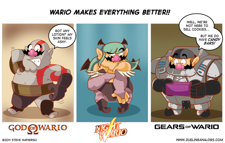 Wario Makes Everything Better!!