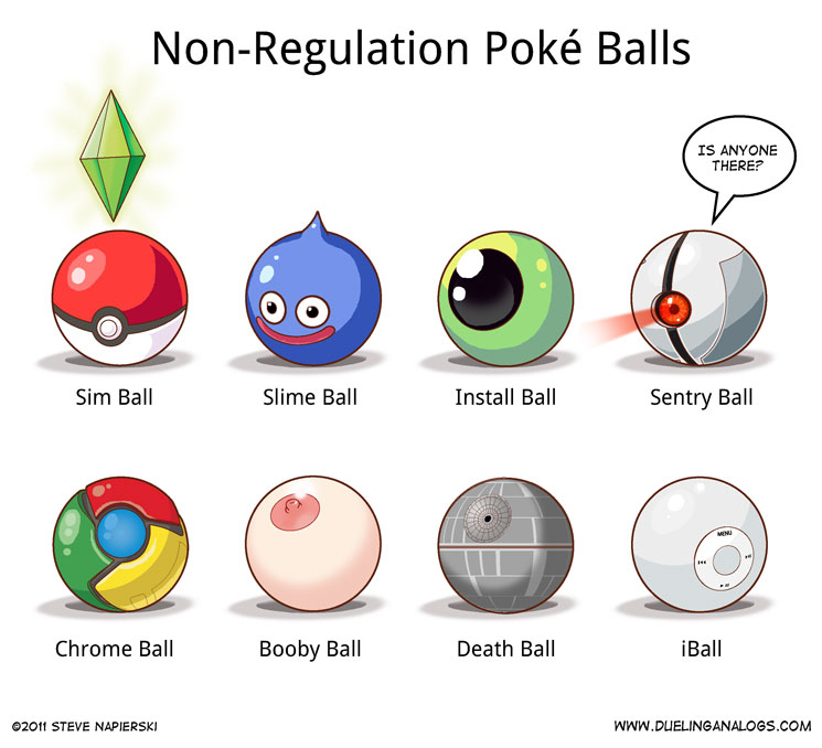 Non-Regulation Poké Balls (1 of 6)