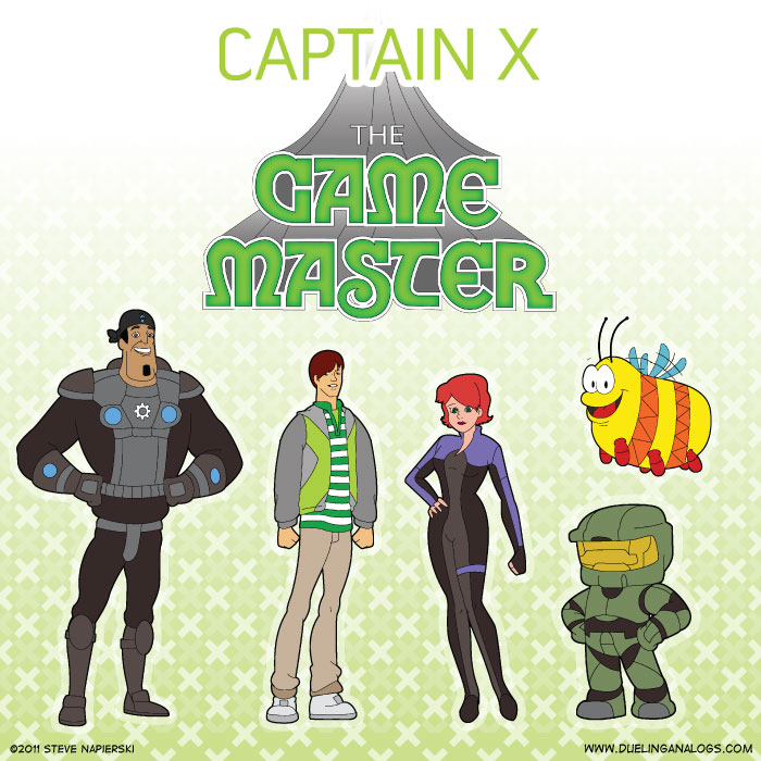 Captain X: The Game Master