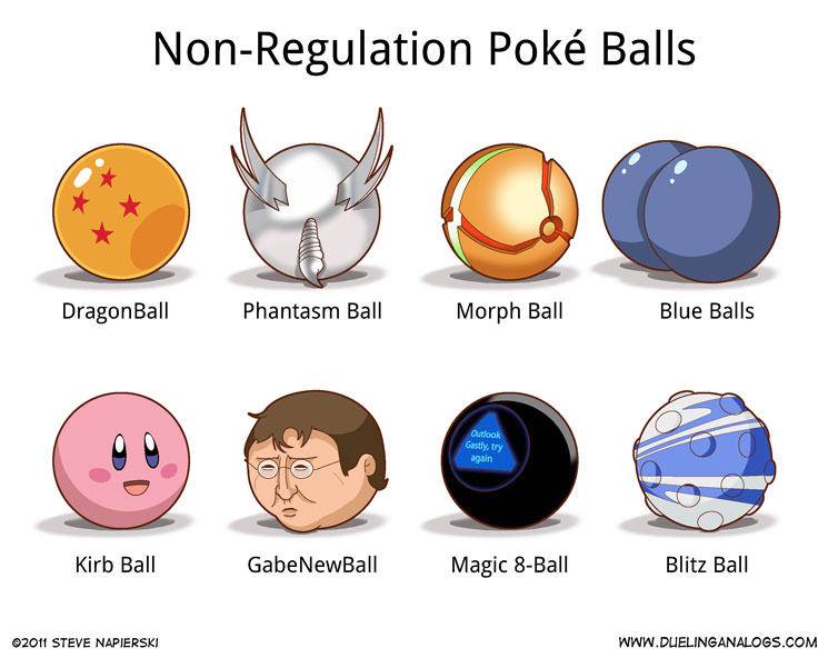 Non-Regulation Poké Balls (2 of 6)