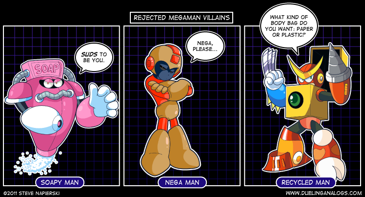 Rejected Mega Man Villains XIII