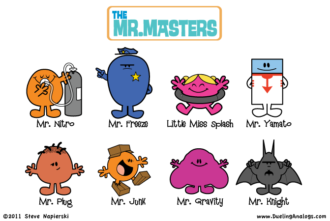 The Mr. Masters 6