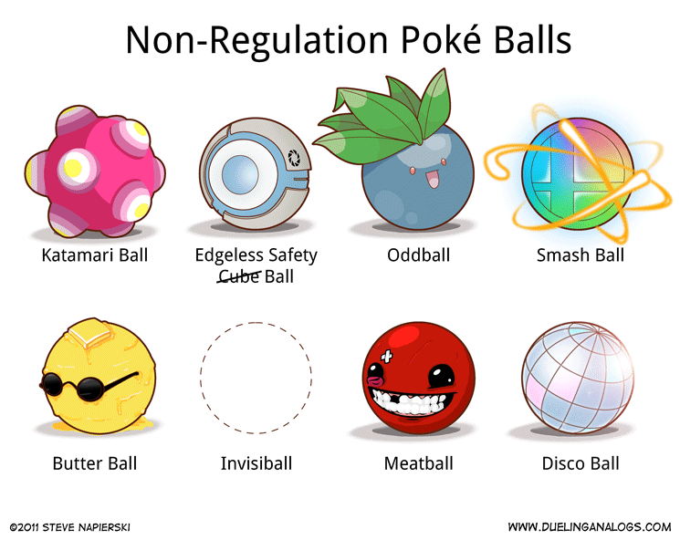 Non-Regulation Poké Balls (3 of 6)