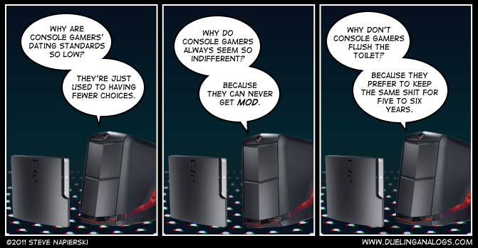 PC vs. Console: Part II – Console Gaming
