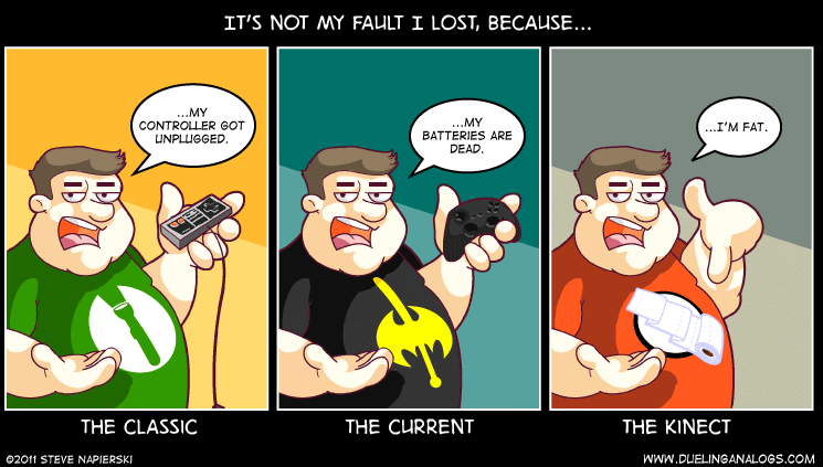 It's Not My Fault…