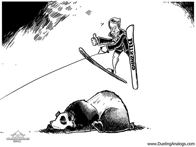 Jump the Panda