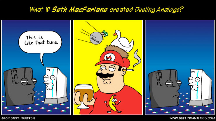 What if Seth MacFarlane&#8230;