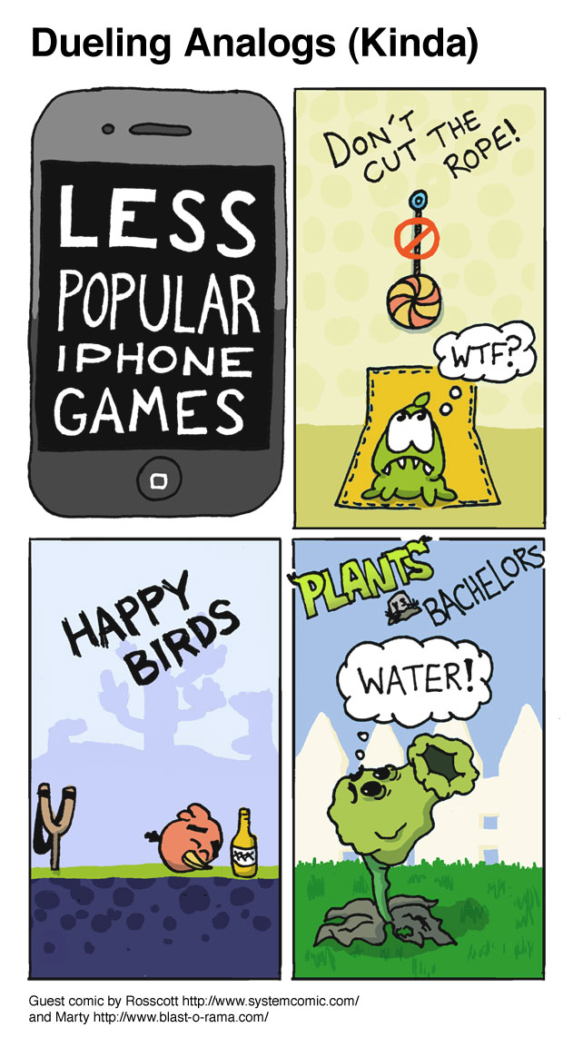 Less Popular iPhone Games