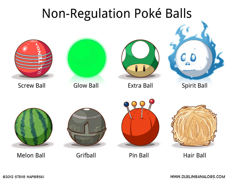 Non-Regulation Poké Balls (5 of 6)