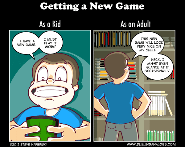 Getting a New Game