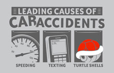 Leading Causes of Car Accidents – Gaming Shirt