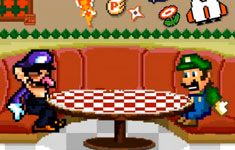 Waluigi and Luigi Hang Out