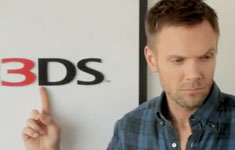 Joel McHale is not in a 3DS Commercial