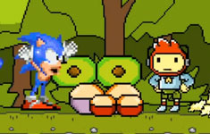 Sonic the Hedgehog Meets Scribblenauts