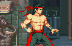 Recreating Liu Kang as a Street Fighter Alpha Character