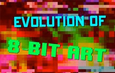 Evolution of 8-Bit Art