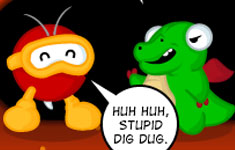 Stupid Dig Dug