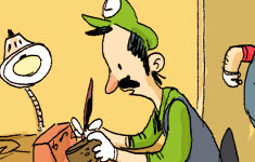 Luigi is Sensitive