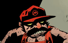 Mike Mignola's Super Mario Bros.