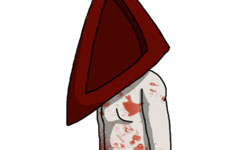 Will You Be My Valentine, Pyramid Head?