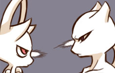 Mewtwo vs. Mewthree